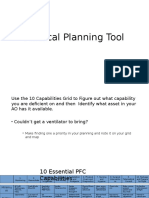 Medical Planning Tool
