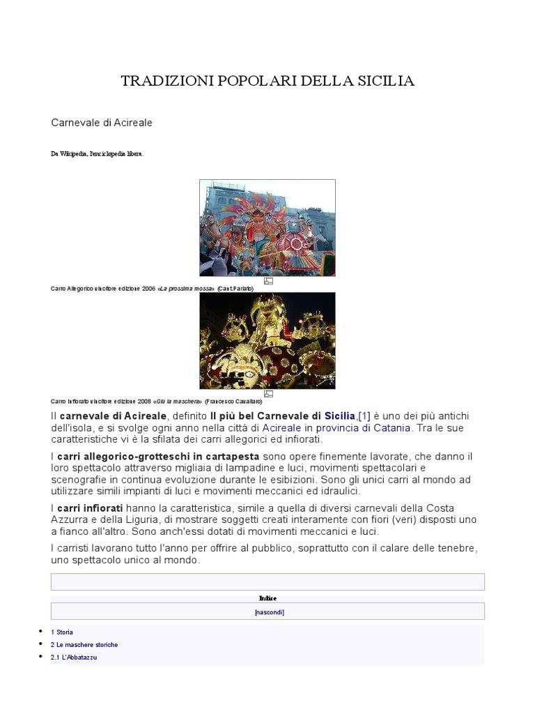 Tradizioni Popolari Della Sicilia cb1704d5e5ae