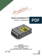 Notice Ptu 80v4