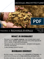 Biomasss Energy
