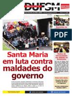 Jornal SEDUFSM Setembro e Outubro 2016