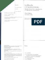 Badiou. 2010, La filosofía y el acontecimiento