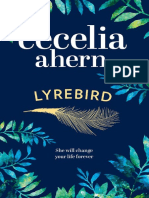 LYREBIRD by Cecelia Ahern - Extract