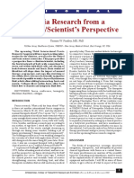 Fascia Research From a ClinicianScientist's Perspective