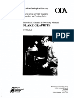Industrial Minerals Laboratory Manual - Flake Graphite