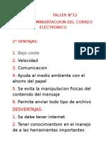 Taller N-12 6-A Juan Camilo Muentes Gonzales
