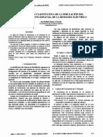 Calibración cuantitativa de la simulación del comportamiento espacial de la demanda eléctrica