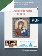 Material Patrocinio de María Sábado
