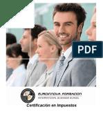 Certificación en Impuestos