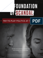 Foundation of Scandal