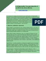 Carles Tomas i Puig Del Hipertexto Al Hipermedia