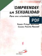 Comprender la Sexualidad. Priego,Tomás