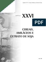Capítulo 26 - Cereais, Amiláceos e Extrato de Soja
