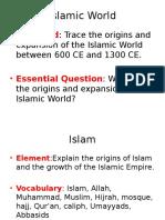 sswh5 islam powerpoint