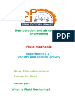 Fluid Mechanics EDRIS
