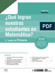 Docente Primaria Matematica ECE 2015