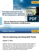 Webinar - Tips for Selecting and Using Bath Fluids