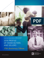 2016 Profile of Home Buyers and Sellers 10-31-2016
