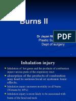 Burn II Dr Jayan