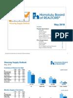 May 2010 Oahu Hawaii Housing Outlook