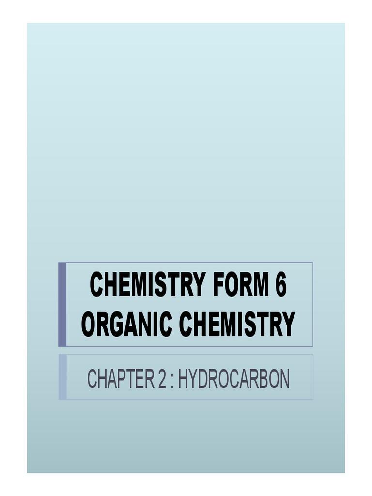 CHEMISTRY FORM 6 SEM 3 02 pdf   Alkane   Cracking (Chemistry)