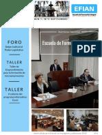 EFIAN Boletín Septiembre, 2016