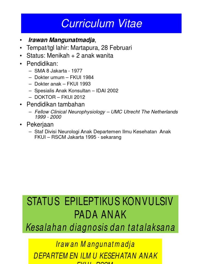 KLASIFIKASI STATUS EPILEPTIKUS PDF