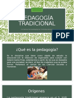 Pedagogía tradicional