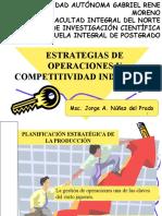 Estrategias de Operaciones y Competitividad Industrial