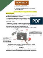 Manual Alarm a Gsm Espanol
