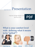 ciss presentation - what is tag