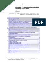 French - Cohabitation conflictuelle entre le droit religieux et le droit étatique 2008