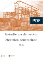 EstadisticaSectorElectricoEcuatoriano2014