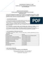 Engenharia Da Informacao Ufabc Edital Seletivo 2014 Final