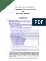 French - Dissimulation Taqiyyah Chez Les Chi'Ites Et Les Druzes 2004