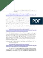 Faulkner Nobel Prize Annotated Bibliography