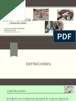 CONSTRUCCION 9. CIMENTACIONES