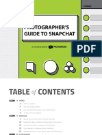 Photoshelter Photographers Guide to Snapchat