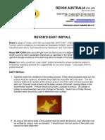 Rexon Easy Install