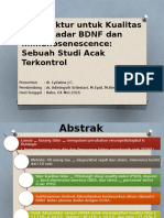 Akupunktur Untuk Kualitas Tidur, Kadar BDNF