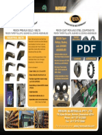 Rexon Product Range Flyer