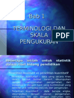 Bab 1, Terminologi Dan Skala Pengukuran (2)