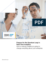 Prepare for the Quantum Leap in Real-Time Analytics