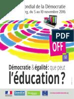 Programme Fmd OFF
