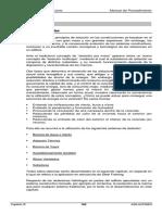 Aislaciones y Terminaciones- Manual de Procedimiento