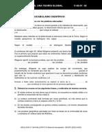 Tema 2 Ficha 1 Conceptos y Vocabulario Cientifico