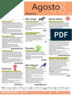Agenda Rgional - Parque Aberto de Agosto