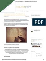 Lectura Obligatoria 2. José Cervera, Periodismo Postindustrial y Los Métodos Alternativos de Relevancia Informativa