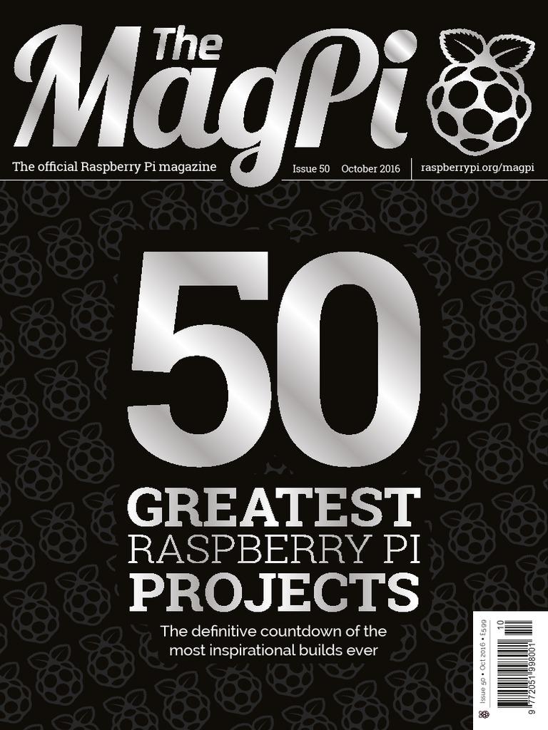 cac98599e6 MagPi50 Magazine Issue 50
