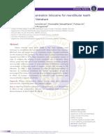 Farmako Journal - Effect of Lidocaine